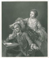Garrick and His Wife
