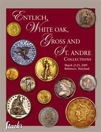 Cover Stacks Entlich, White Oak, Gross and St Andre auction catalog