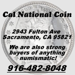 Cal National Coin ebay logo