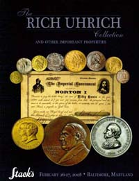 Stacks Richard Uhrich sale catalog