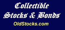 Collectible Stocks and Bonds logo