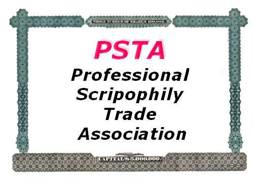 Professional Scripophily Trade Association logo